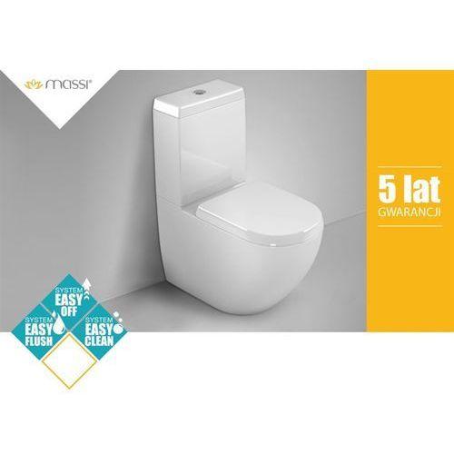 Kompakt WC DECOS NANO+DESKA Massi