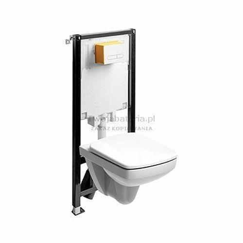 Koło Nova Pro zestaw WC Slim2 miska WC prostokątna 99645000