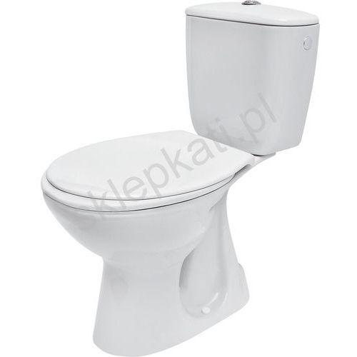 CERSANIT PRESIDENT Kompakt WC z odpływem pionowym z deską k08-039 (5907720636180)