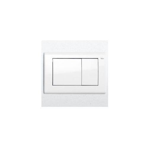 Tece przycisk spłukujacy teceplanus do wc biały połysk 9240324