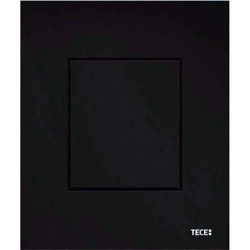 przycisk spłukujący do pisuaru tecenow z wkładką zaworową czarny połysk 9242403 marki Tece