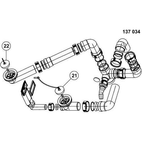 Armatura BLANCO 137034