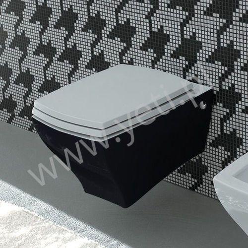jazz miska wc podwieszana czarna z deską jzv0010300 marki Artceram