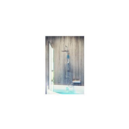 Zestaw natryskowy kwadratowy KVADRATO deszczownia Kolumna natryskowa z deszczownicą PLQ 00KX