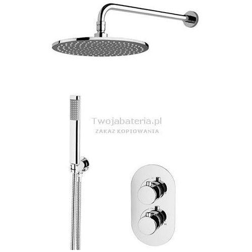 Vicario Radius kompletny zestaw prysznicowy podtynkowy termostatyczny TRZES20