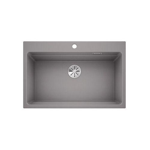 etagon 8 silgranit puradur alumetalik, infino, szyny - alumetalik \ manualny marki Blanco