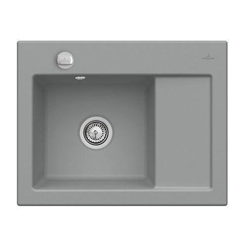 Villeroy & boch Zlew ceramiczny subway 45 compact - sl stone \ lewa \ automatyczny