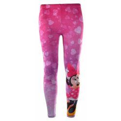 Legginsy dziecięce Myszka Minnie, kolor różowy