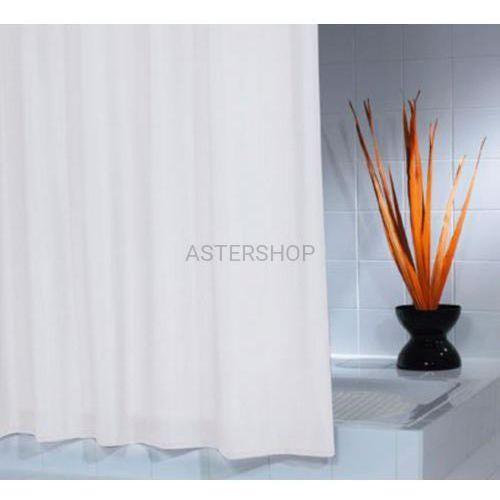 Madison poliestrowa zasłona prysznicowa biała 180x200cm 45301 marki Ridder