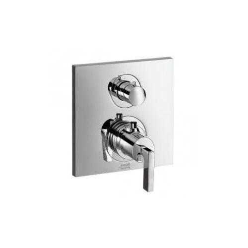 Axor Citterio Bateria termostatowa podtynkowa z zaworem odcinająco-przełączającym, z uchwytem jednoramiennym, element zewnętrzny 39720000