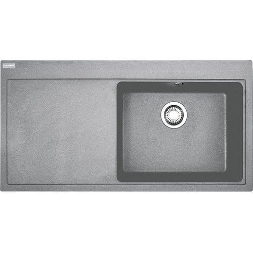 Zlew Franke MTG 611 komora z prawej Kamienny Szary 114.0330.979 (zamów wycięcie otworów gratis) (7612981263799)