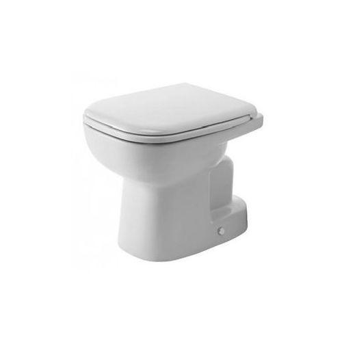 Duravit D-Code Miska lejowa toaletowa stojąca biała 35,5x65 cm 21110100002