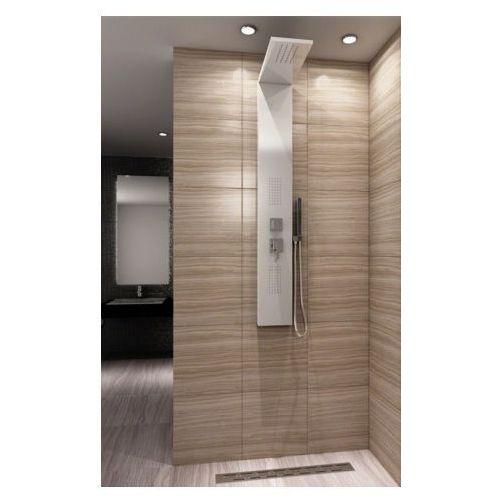 Rea 9750 panel prysznicowy, biały