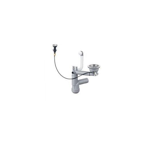 Deante syfon space saver lux do zlewozmywaków granitowych 1-komorowych 3,5 cala przelew w komorze zxy 9915