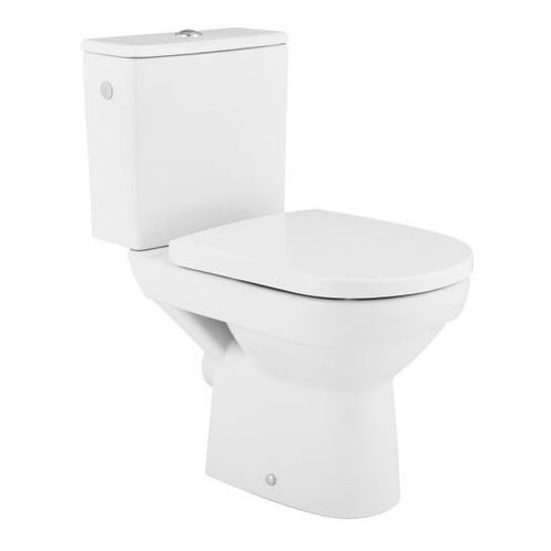 Cersanit Kompakt wc  city z deską wolnoopadającą z duroplastu