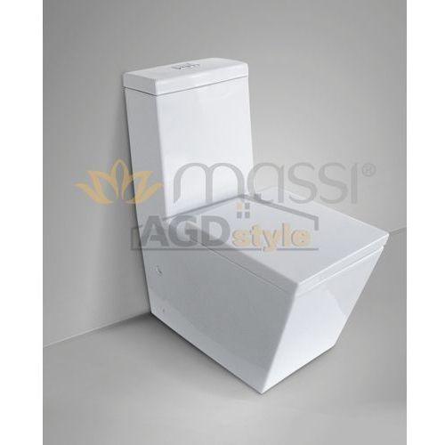 Kompakt wc inglo + deska duro (msk-a389du) marki Massi