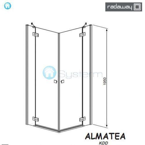 Radaway Almatea kdd 80 x 100 (32181-01-01N)