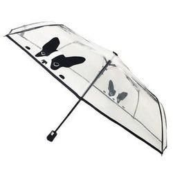 Smati - składany parasol - pies - przeźroczysty