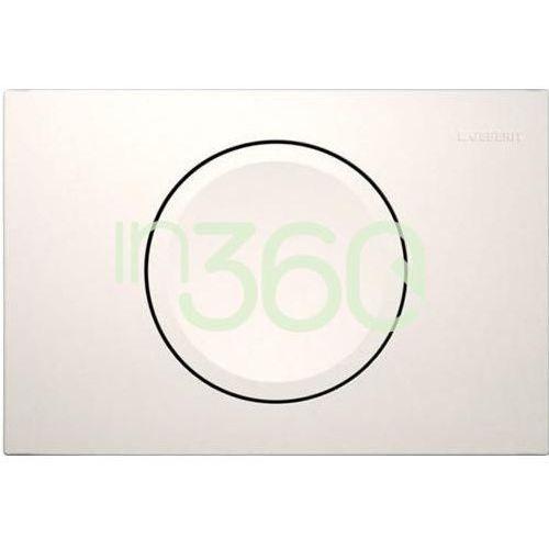 delta11 przycisk uruchamiający przedni do spłuczek podtynk. up100, biały alpin 115.120.11.1 marki Geberit