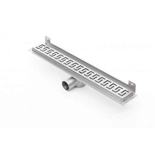 Kesmet wall silver greek odpływ ścienny 500kwf_p 500mm (syfon plastikowy)