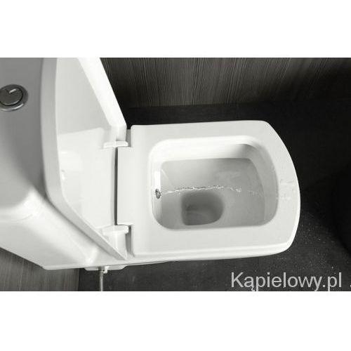 Basic miska stojąca z dyszą bidetową wc pionowy/poziomy odpływ 71122340 marki Isvea
