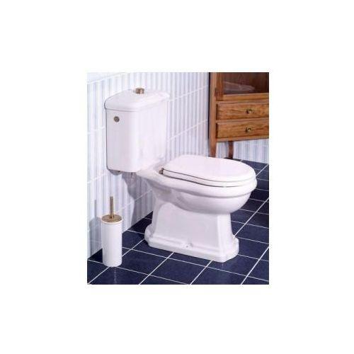 Kerasan retro kompletny kompakt, miska wc odpływ pion, zbiornik, deska (101201 +108101 +750990 +109001) in.000u035