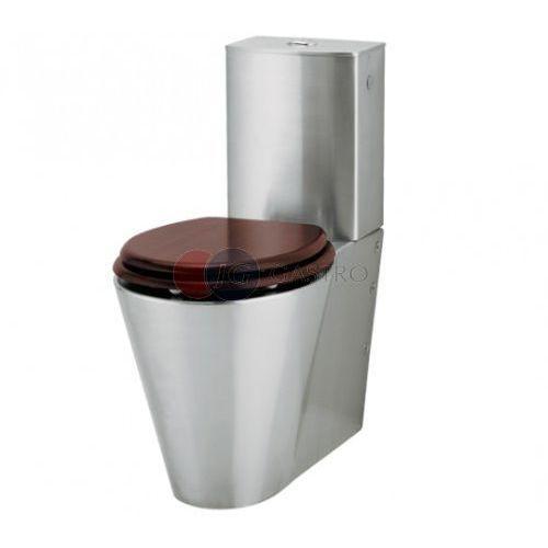 Miska WC stojąca ze zbiornikiem do łazieniek dla osób niepełnosprawnych Intra WCK4-HC, WCK4-HC