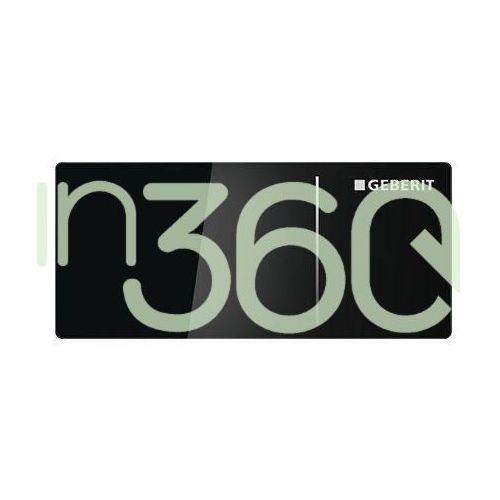 sigma70 przycisk uruchamiający, zdalny, czarne szkło 115.630.sj.1 marki Geberit