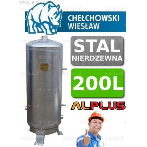 Zbiornik Hydroforowy 200l Nierdzewny Hydrofor firmy Chełchowski Wysyłka Gratis