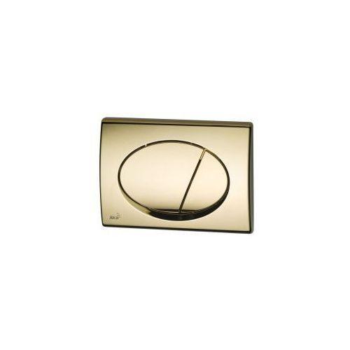 Przycisk spłuczki podtynkowej, złoty m75 marki Alcaplast