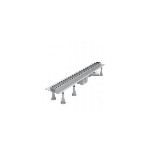 SCHEDPOL SLIM LUX Odwodnienie liniowe 100x3,5x9,5 do zabudowy płytkami OLP100/SLX, OLP100/SLX