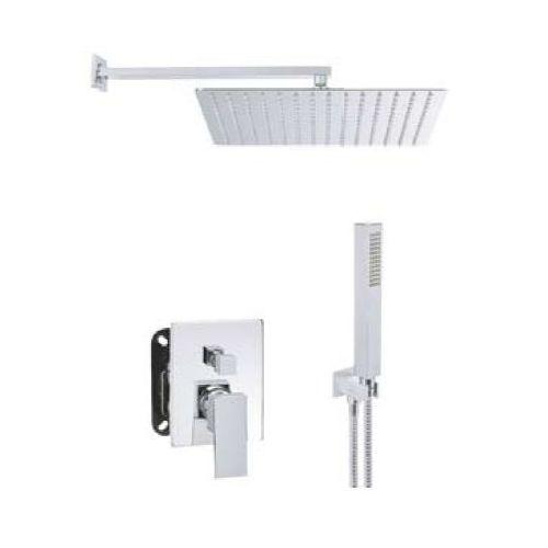 Invena Kubiko zestaw prysznicowy podtynkowy BS-08-K02-A