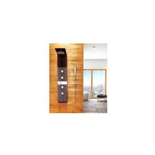 7059 panel prysznicowy w kolorze wenge marki Rea