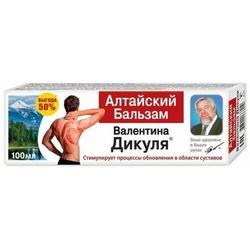 Ałtajski żel balsam poroże jelenia marala walentina dikula 100 ml marki Korolev farm