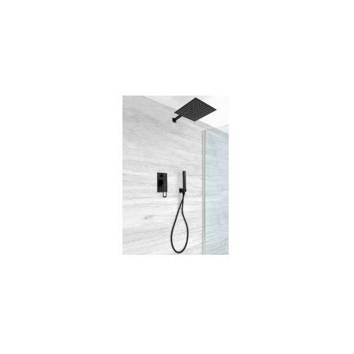 REA SOHO Podtynkowy zestaw prysznicowy, czarny REA-P5632, REA-P5632