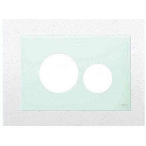 płytka z przyciskami spłukującymi teceloop biała 9240663 marki Tece