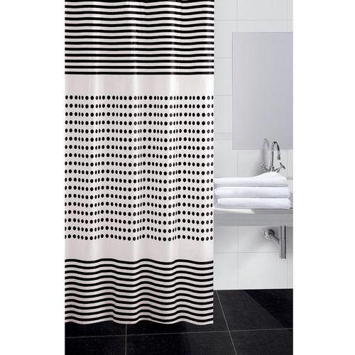 Koopman zasłona prysznicowa darja czarny, 180 x 180 cm marki 4home