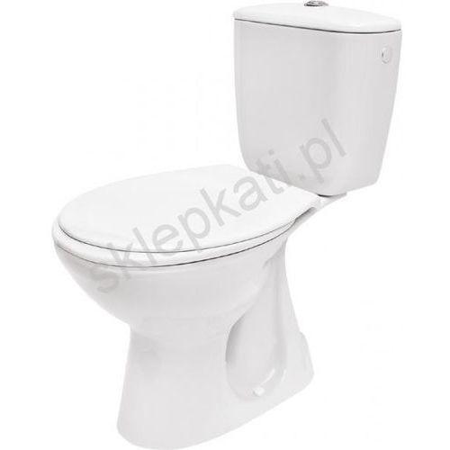 CERSANIT PRESIDENT Kompakt WC z odpływem pionowym z deską K08-029 (5907536620960)