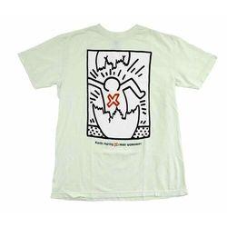 koszulka ALIEN WORKSHOP - Haring Egg Filter Gry (SEDA)