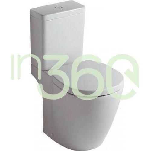 Ideal standard connect miska wc kompaktowa odpływ poziomy biały e803601
