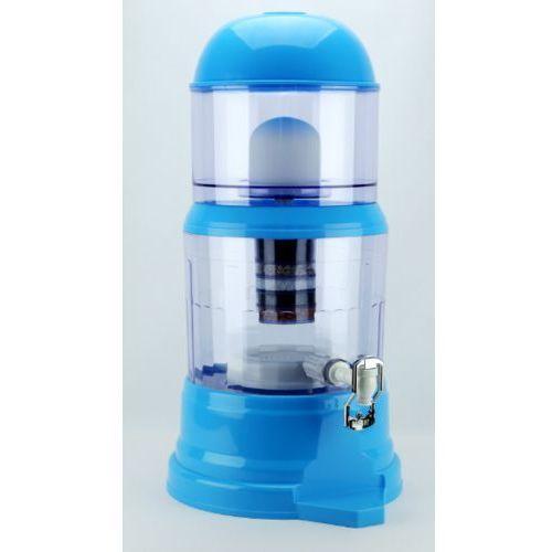Dyspenser - filtr do wody miejskiej 14l niebieski