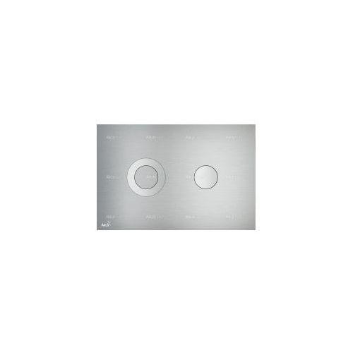 Alcaplast Przycisk spłuczki podtynkowej, metal-mat turn