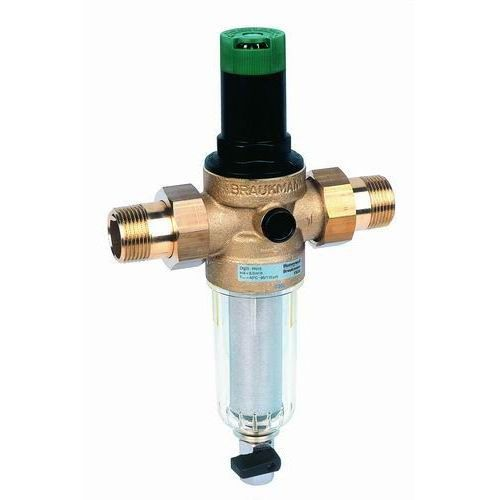 Filtr siatkowy z reduktorem ciśnienia Honeywell