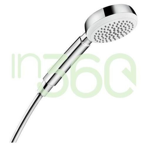 Hansgrohe Crometta 100 słuchawka prysznicowa 1jet EcoSmart 7 l/min biały/chrom 26829400