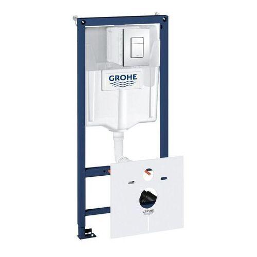 Zestaw Podtynkowy WC Rapid SL 5w1 Stelaż + Przycisk + System Fresh + Kątowniki + Mata 38827000 Grohe