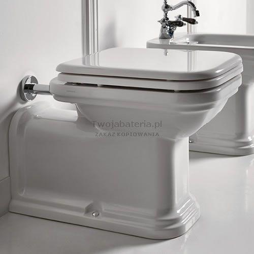 Kerasan Waldorf miska WC stojąca przedłużona 411601