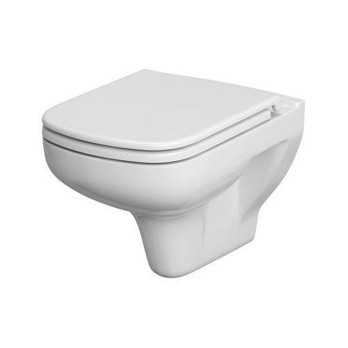 Cersanit Miska wc colour bezkołnierzowa z deską duroplast wolnoopadającą