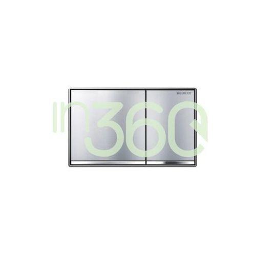 Geberit Sigma60 przycisk uruchamiający przedni, zlicowany z powierzchnią ściany chrom 115.640.GH.1