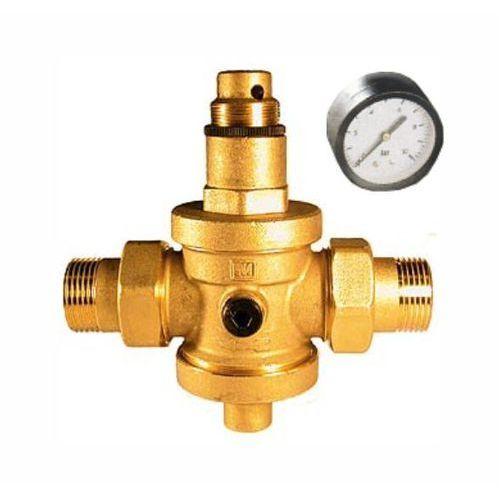 """Malgorani Eurobrass reduktor ciśnienia wody 3/4"""" z manometrem (142.3/4 z/m)"""