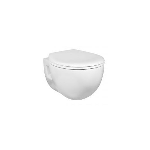 KERRA AMELIA16 Miska WC wisząca + deska duroplast wolnoopadająca, AMELIA_16